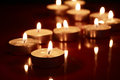 Free Candles On Dark Royalty Free Stock Photos - 27119858