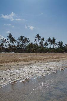 Free Sandy Beach On A Sunny Day. Stock Photo - 27110310