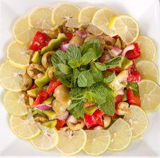 Free Green Salad Stock Photo - 27111220