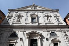 Free The Church Of St. Louis Of The French In Rome Stock Photo - 27112130