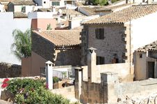 Town Alcudia, Mallorca, Spain Royalty Free Stock Photography