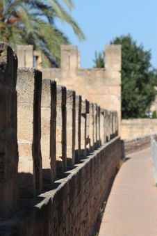 Free Old Fortress In Alcudia, Mallorca Royalty Free Stock Photo - 27114625