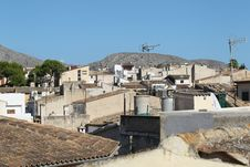 Town Alcudia, Mallorca, Spain Royalty Free Stock Image