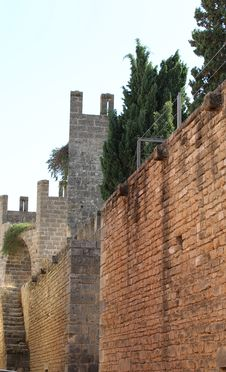 Free Old Fortress In Alcudia, Mallorca Royalty Free Stock Photo - 27114665