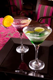 Free Romantic Drinks Royalty Free Stock Photography - 27117757