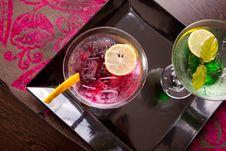 Free Romantic Drinks Stock Photography - 27118002