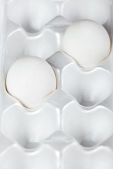 Free Eggs In The Box Stock Photo - 27118830
