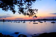 Free Glorious Sunset Royalty Free Stock Photos - 27119018