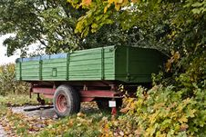 Free Trailer Of A Tractor Stock Images - 27119234