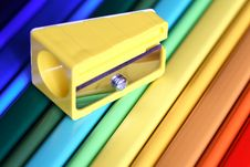 Free Pencil Sharpener Royalty Free Stock Photos - 27119868