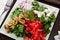 Free Cheese Salad Stock Image - 27112591