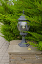 Free Small Lamp In Park Stock Images - 27122114