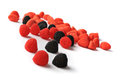 Free Assortment Of Black And Red Candies Royalty Free Stock Image - 27122706