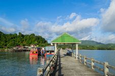 Free Leam Hin Seaport, Phuket Stock Photo - 27122500