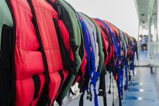 Free Lifejackets Stock Images - 27122684