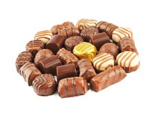 Free Chocolate Pralines Royalty Free Stock Photography - 27122717