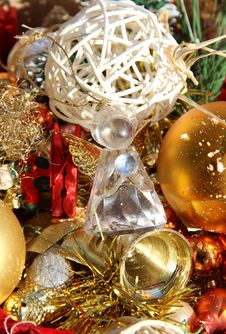 Free Christmas Decorations Stock Image - 27127041