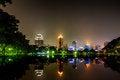 Free Bangkok City At Night View Royalty Free Stock Photos - 27133048