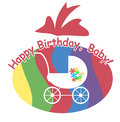 Free Congratulations To The First Birthday Royalty Free Stock Photo - 27135355