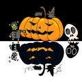 Free Cartoon Halloween Hand Draw Stock Image - 27136591