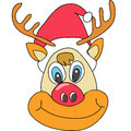 Free Reindeer Christmas Cartoon Stock Photos - 27137223
