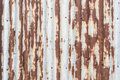 Free Rustic Galvanized Sheet Wall With Nail Stock Images - 27137264