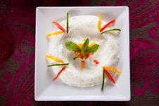Free Cream Salad Royalty Free Stock Photography - 27130037