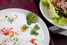 Free Cream Salad Stock Images - 27130364