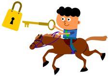Free Joust To Unlock Royalty Free Stock Photo - 27131005