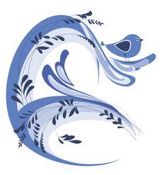 Free Frame Design With Bird Royalty Free Stock Photos - 27135388