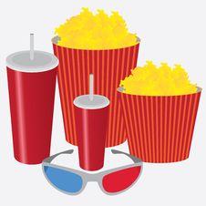 3D Cinema. Stock Images