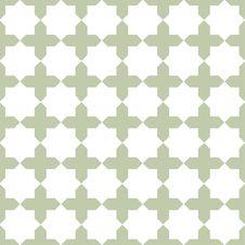Free Seamless Islamic Pattern Royalty Free Stock Photography - 27136217