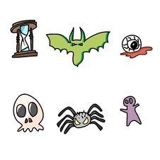 Free Hand Draw Halloween Cartoon Stock Photo - 27136370