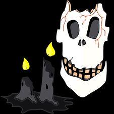 Free Cartoon Halloween Hand Draw Royalty Free Stock Photos - 27136758