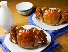 Free Crab Royalty Free Stock Photos - 27138948