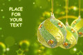 Free Christmas Baubles Royalty Free Stock Photos - 27141108