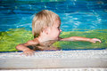 Free Young Smiling Boy In The Swimming Pool Royalty Free Stock Image - 27147976