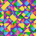 Free Colorful Abstract Retro Triangular Pattern Poster Stock Photo - 27148190