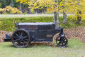 Free Antique Buffalo Roller Royalty Free Stock Photography - 27149717