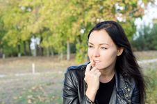 Free Pensive Woman Thinking Stock Photo - 27141020