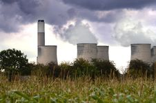 Free Power Station Stock Photography - 27143562