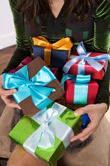 Free All The Presents For Me Stock Photos - 27144233