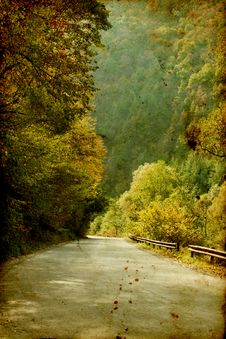 Free Colorful Autumn In The Mountains Royalty Free Stock Photography - 27144277