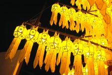 Free Thai Style Lamp Royalty Free Stock Images - 27144529