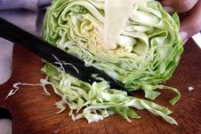 Cabbage For Salad Stock Photos