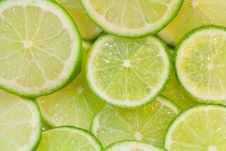 Free Lime Slices Background Stock Photo - 27159510