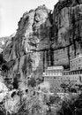 Free Mega Spileo Monastery In Kalavryta, Greece Royalty Free Stock Images - 27160049