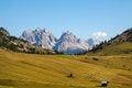 Free The View Of Dolomiti Mountain Stock Image - 27161461