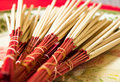 Free Incense Sticks Royalty Free Stock Photo - 27166615