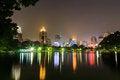 Free Bangkok City At Night View Royalty Free Stock Images - 27166779